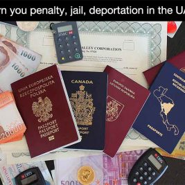 Passport forgery