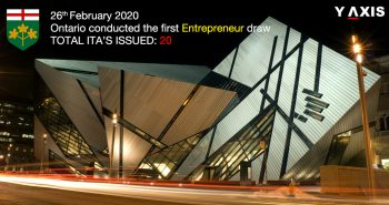 Ontario invites 20 in the first Entrepreneur draw of the year