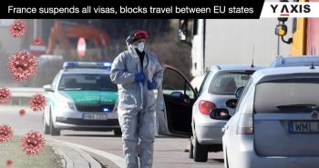 France cancels visas