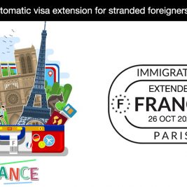 France visa automatic extended