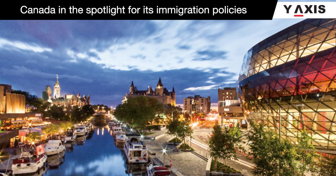 USA Canada immigration compare