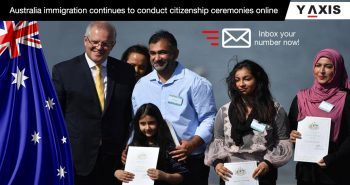 Online citizenship ceremony