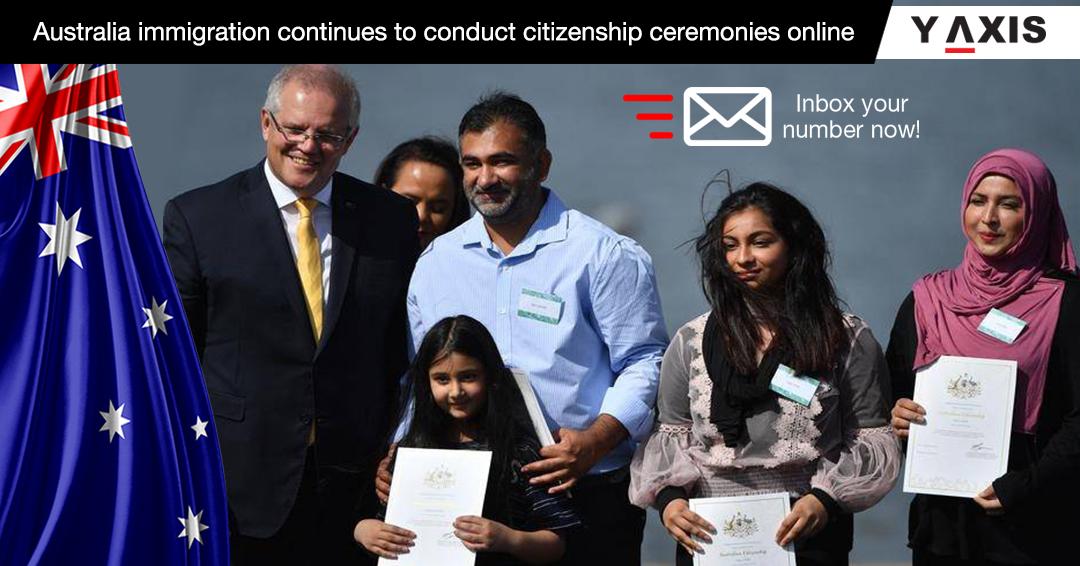 Online citizenship ceremony