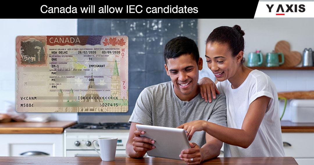 IEC candidates allowed