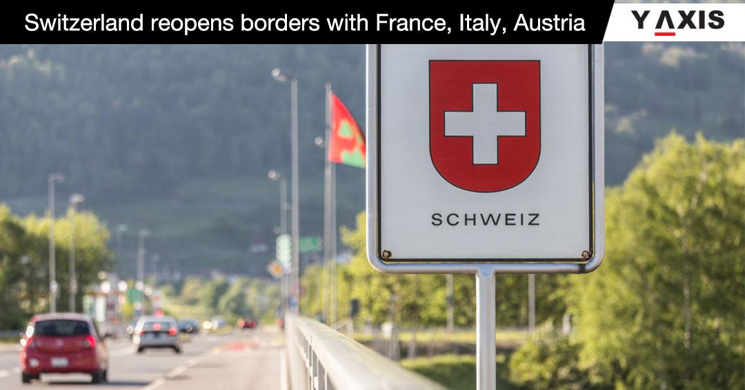 Switzerland reopen borders
