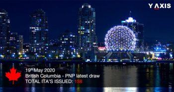 British Columbia PNP latest Draw