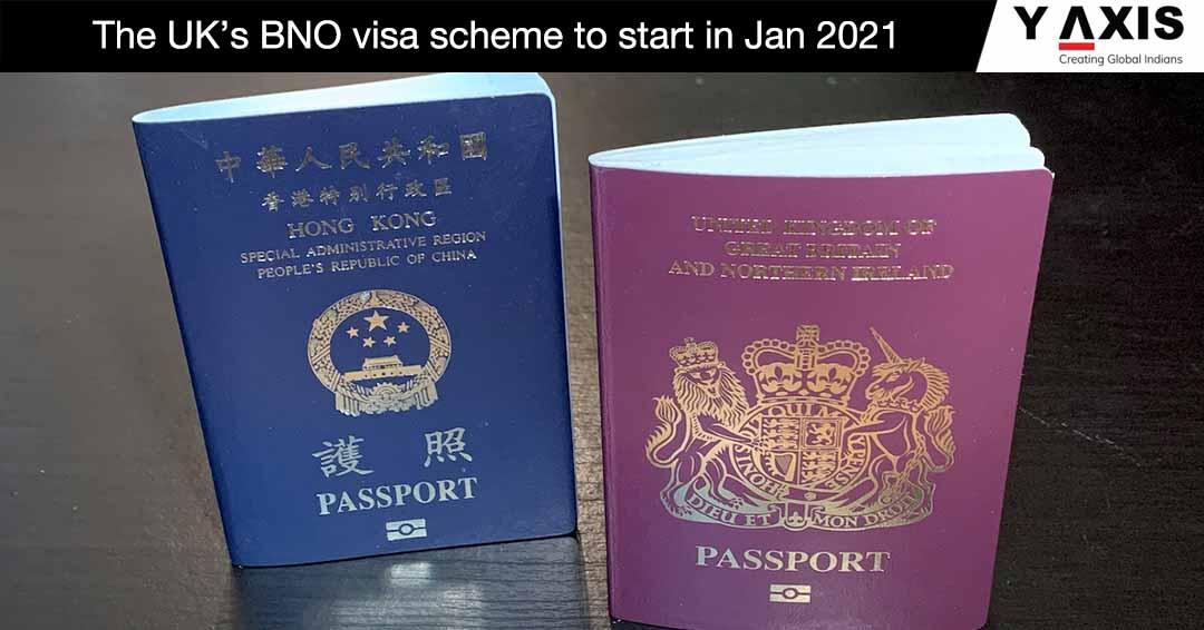 The UK BNO visa scheme