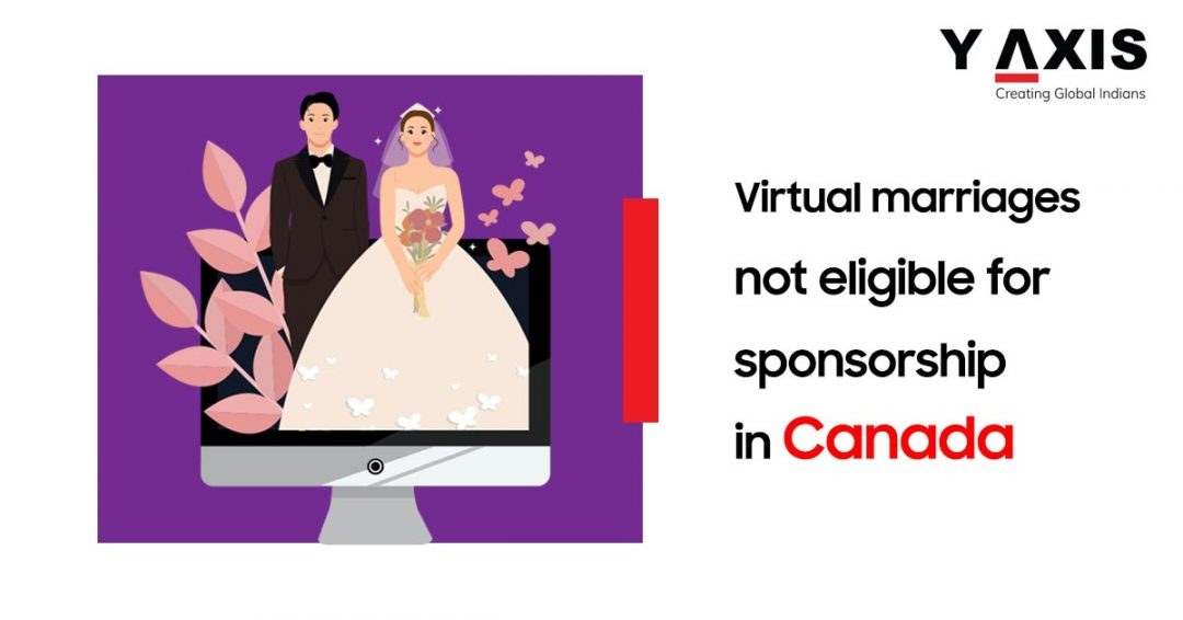 Virtual marriages not allowed in Canada