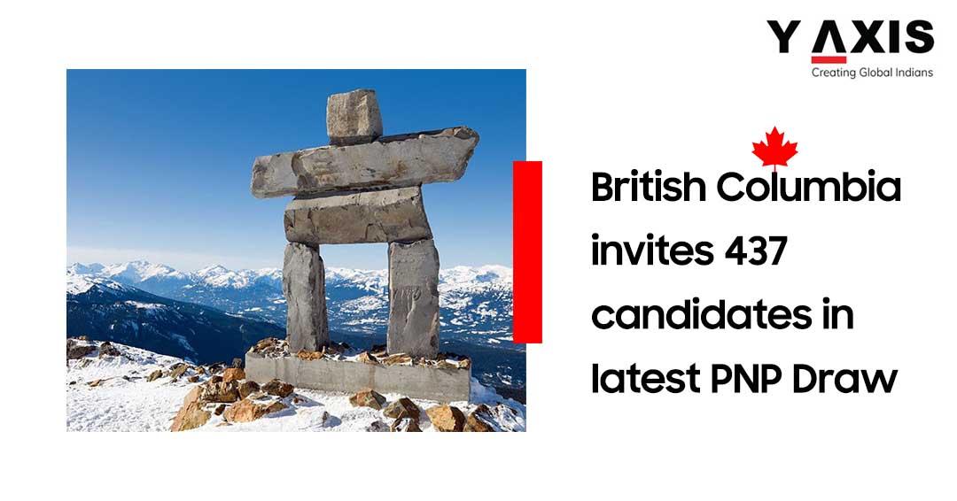 BC PNP draw 437 invites