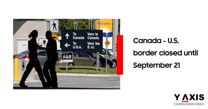 Canada US border closed