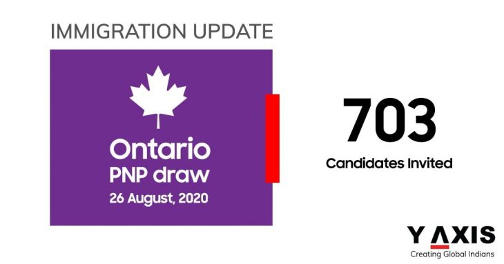 Ontario PNP invites 703 candidates