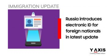 Russia electronic migration cards