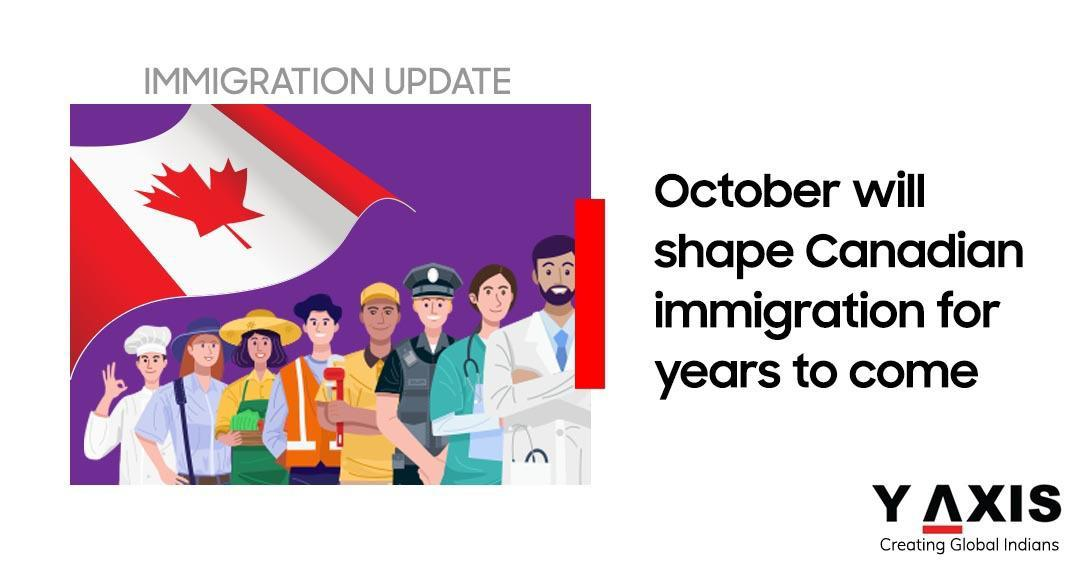 Canada immigration plans in October 2020