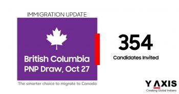 BC PNP draw 354 invites