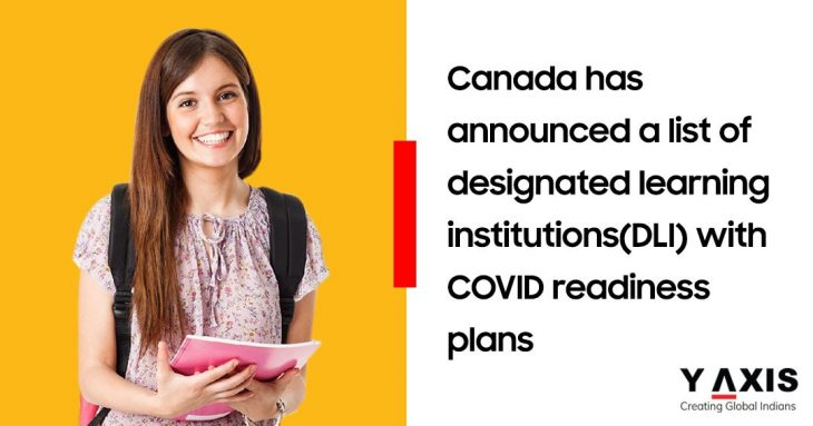 Canada allows foreign students can join DLIs with COVID plan