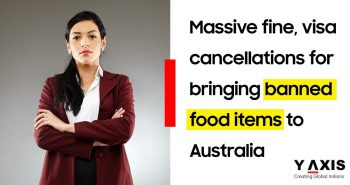 Australia penalize travelers for banned food