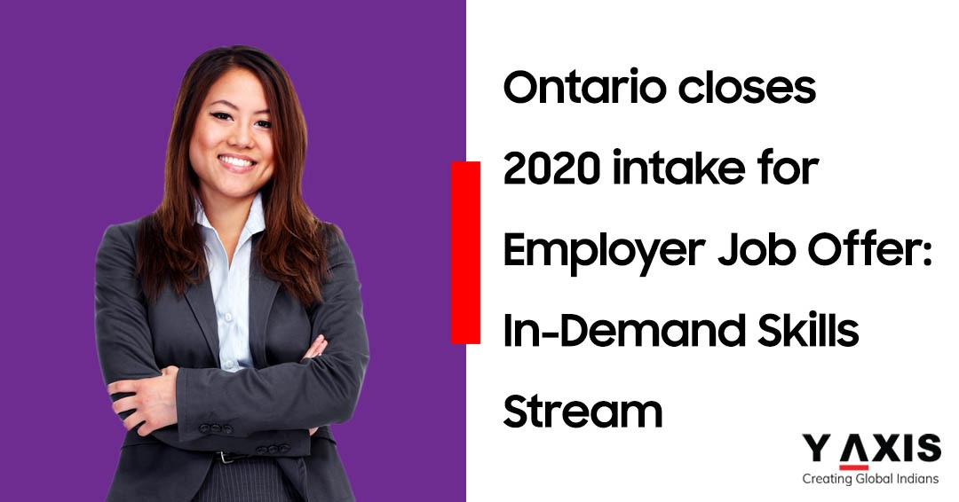 Ontario closes In-demand Skills Stream intake