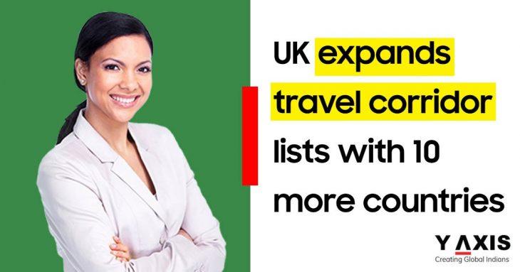 UK updates travel corridor list