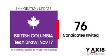 British Columbia welcomes 76 tech candidates on Nov 17