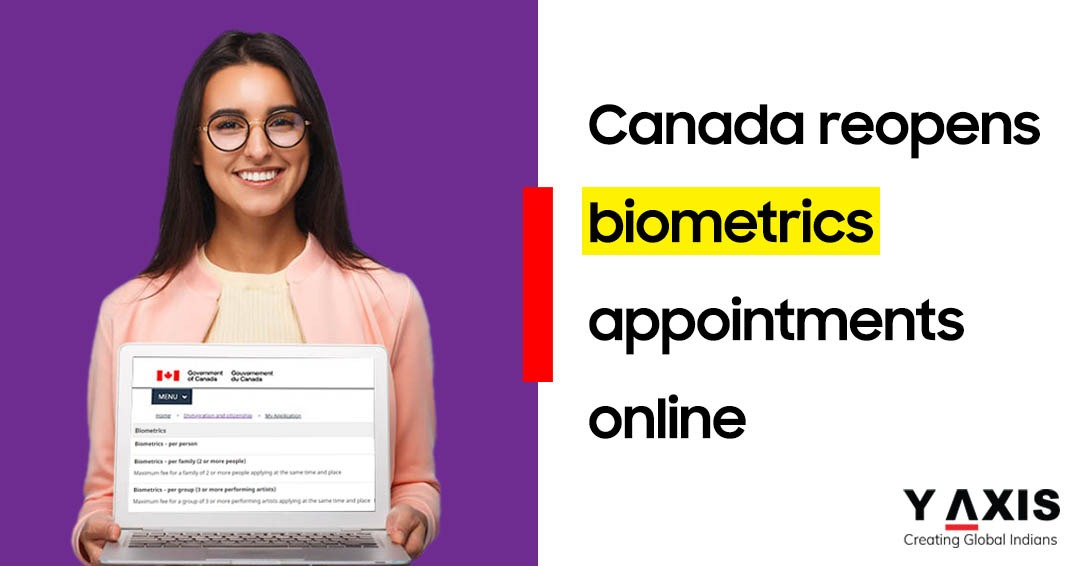 IRCC Online Biometric appointment from Nov 30