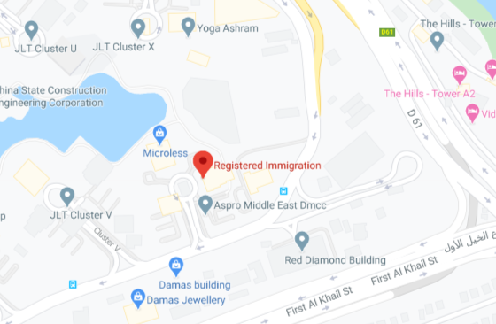 Registered Immigration Visa Consultants ✅ Y-Axis Middle East DMCC - Google Maps